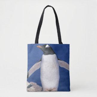 GentooのペンギンのPygoscelisのパプアの)港 トートバッグ