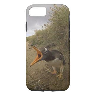 gentooのペンギン、ビーバーのPygoscelisパプア、 iPhone 8/7ケース
