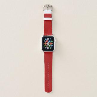 Geoの抽象的で及びモダンなデザイン-いちご愛 Apple Watchバンド