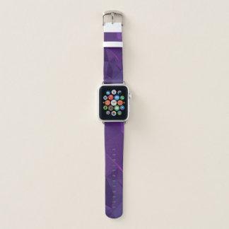 Geoの抽象的で及びモダンなデザイン-タイタンの嵐 Apple Watchバンド
