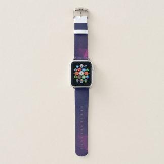 Geoの抽象的な及びはっきりしたデザイン-無秩序の栄光 Apple Watchバンド
