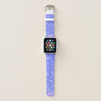 Geoの抽象的な及びはっきりしたデザイン-輝くな霧 Apple Watchバンド