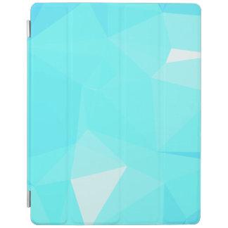 Geoの抽象的な及びはっきりしたデザイン-雪片のトパーズ iPadスマートカバー