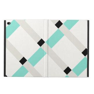 Geo最小主義の色は近代美術のiPadの場合を妨げます Powis iPad Air 2 ケース