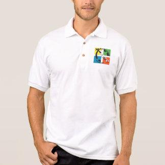 GEOCACHEカリフォルニアカリフォルニア ポロシャツ