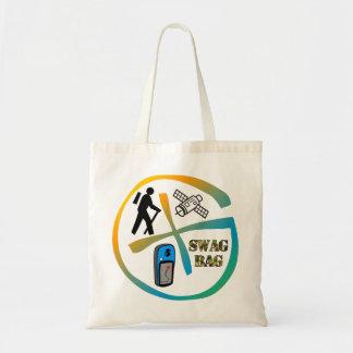 Geocacheミネソタのスワッグのバッグの予算のトート トートバッグ