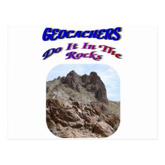 Geocacherは石のそれをします ポストカード