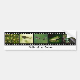 Geocacher Filmstripのバンパーステッカーの誕生 バンパーステッカー