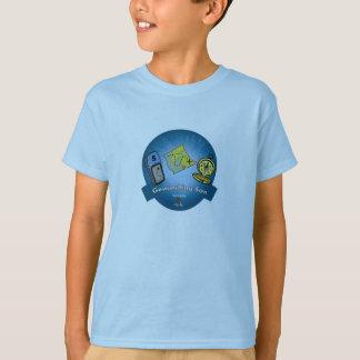 Geocachingの息子のTシャツ Tシャツ