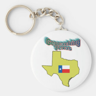 Geocachingテキサス州Keychain キーホルダー