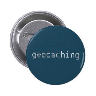 Geocachingボタン 5.7cm 丸型バッジ
