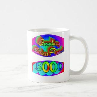 Geocaching 5000の発見 コーヒーマグカップ