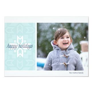 Geoflakeの1写真の休日カード カード