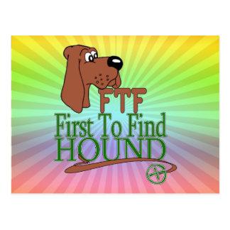 GEOGACHING FTFの猟犬 ポストカード