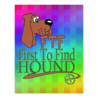 GEOGACHING FTFの猟犬 レターヘッド