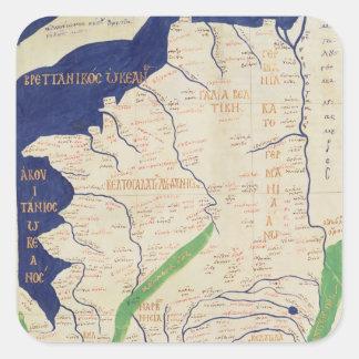「Geographiaからのフランスの地図、 スクエアシール