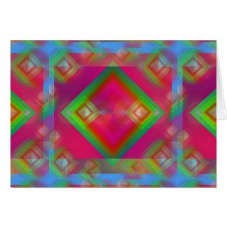 Geometric Design カード