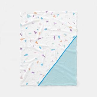 Geometric pattern Blanket フリースブランケット
