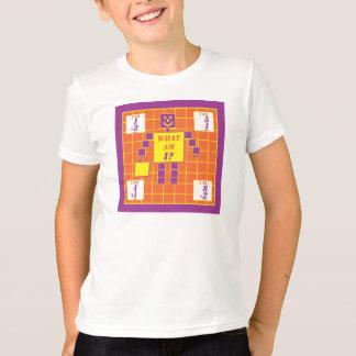 Geometrics Tシャツ正方形年齢4 Tシャツ