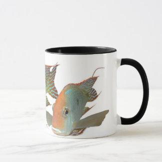 "Geophagus sp。 ""Tapajosオレンジ頭部"" マグカップ"