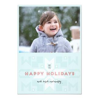 Geovertの1写真の休日カード カード
