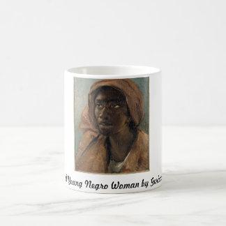 Gericault著若い黒人の女性 コーヒーマグカップ