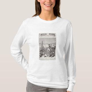 Geronの追求のアパッシュの偵察者の鉛の軍隊のパトロール Tシャツ