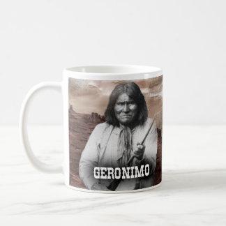 Geronimoの歴史的マグ コーヒーマグカップ