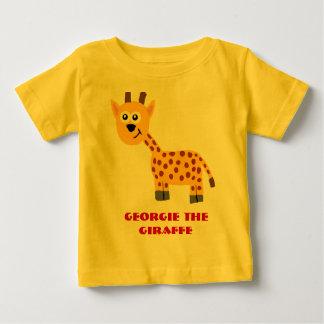GerorgieキリンのTシャツ ベビーTシャツ