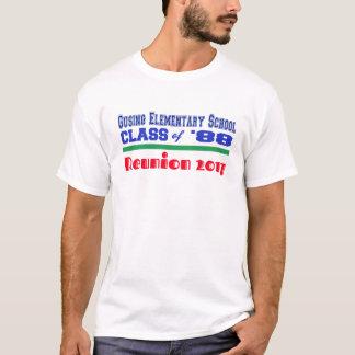 GES 88の同窓会2017年の独占的な版 Tシャツ