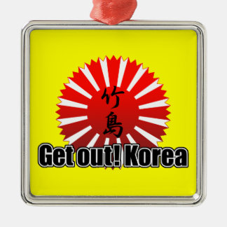 Get out! Korea メタルオーナメント