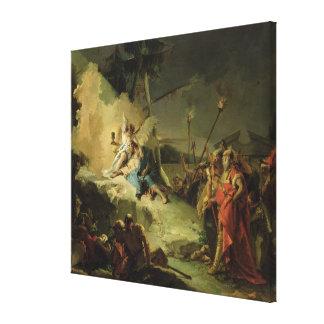 Gethsemaneの庭のキリスト キャンバスプリント