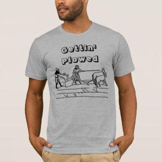 Gettingは耕しました Tシャツ