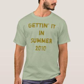 Getting夏2010年のそれ Tシャツ