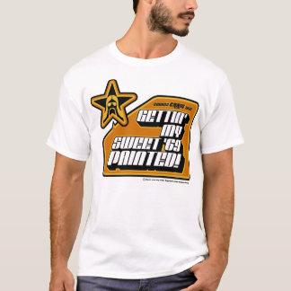 Getting私の甘い「絵を描かれる69 Tシャツ