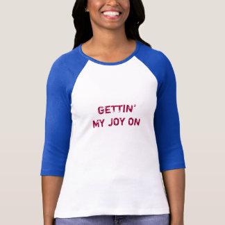 GETTING Tシャツの私の喜び Tシャツ