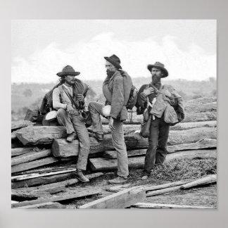 Gettysburgの同盟の囚人 ポスター