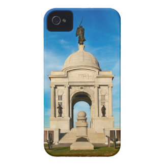 Gettysburgの国立公園-ペンシルバニアの記念物 Case-Mate iPhone 4 ケース