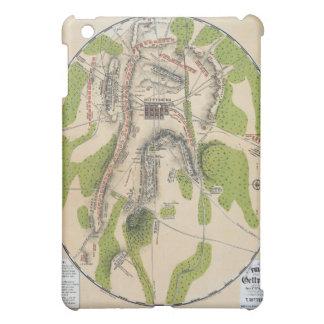 Gettysburgの地図 iPad Mini Case