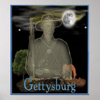 Gettysburgの幽霊の超常的なポスター ポスター