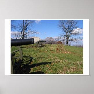 Gettysburgの戦場 ポスター