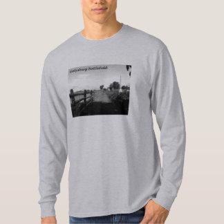 Gettysburgの白黒長袖 Tシャツ