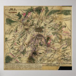 Gettysburgの計画 ポスター