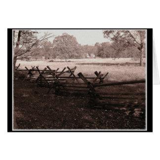 Gettysburg -戦場のメッセージカード#1 カード
