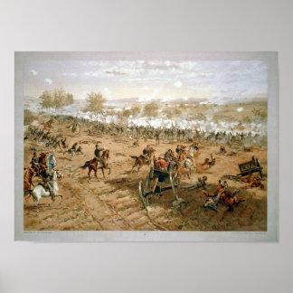 Gettysburg 1863年7月1-3日 ポスター