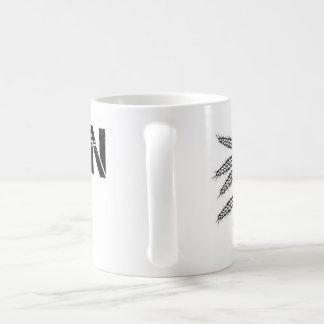 GFの白のマグ コーヒーマグカップ