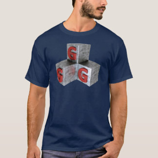 GGG -土の金属そして銀のよいゲームのゲーマーに関して Tシャツ