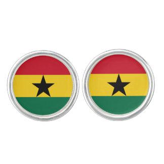 Ghanianの旗のカフスボタン カフリンク