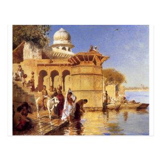 Ghatsに沿って、エドウィンの主Weeksによるマトゥラ ポストカード