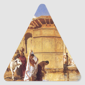 Ghatsに沿って、エドウィンの主Weeksによるマトゥラ 三角形シール